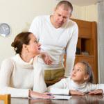 učenie rodičia