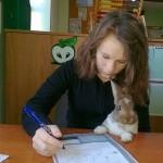 učenie so zvieratkom